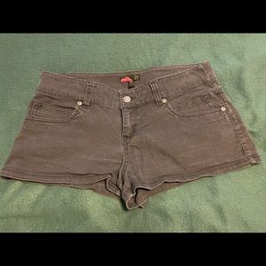 21 Black Denim Jean Shorts